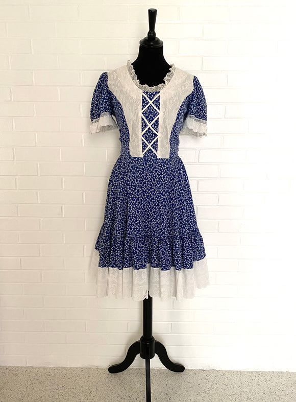 1960s Malco Modes, San Francisco Country Dress