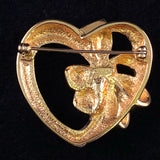 1992 Avon November Birthstone Heart - Retro Kandy Vintage