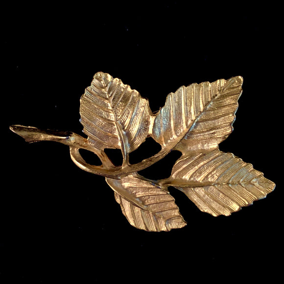 1960s DuBarry of Fifth Avenue Leah Brooch
