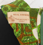 1960s Royal Hawaiian Shift Dress