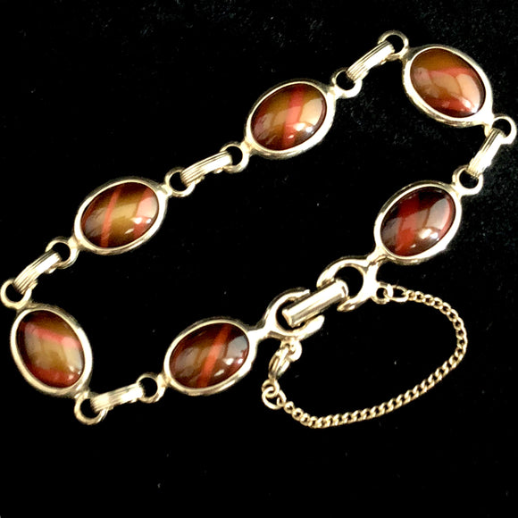1970 Avon Wood Nymph Bracelet - Retro Kandy Vintage