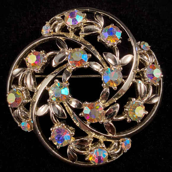 Late 50s/ Early 60s Star Rhinestone Brooch - Retro Kandy Vintage