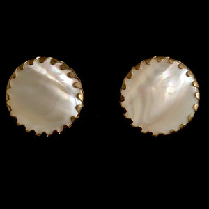 1957 Sarah Coventry Beauty Buttons Earrings