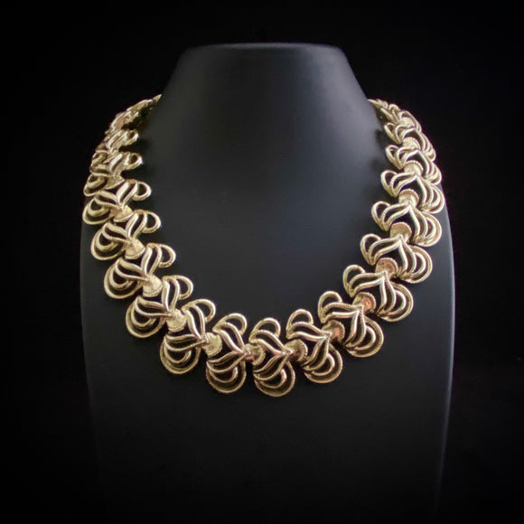 Late 50s/ Early 60s Coro Gold Necklace - Retro Kandy Vintage