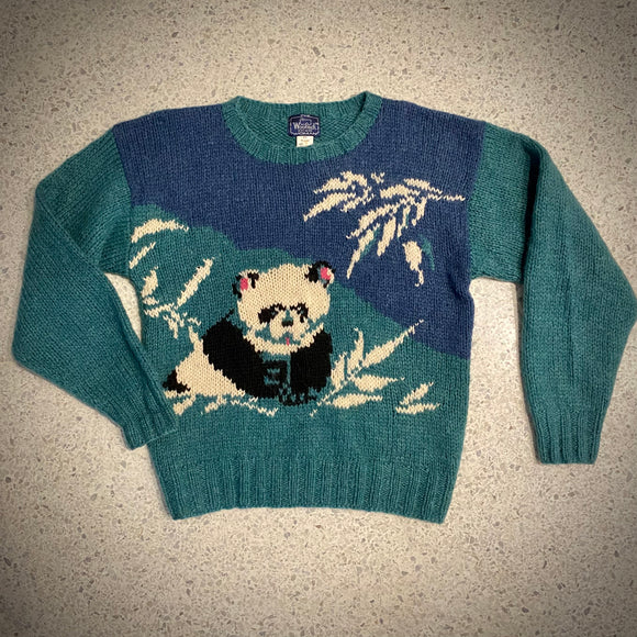 Late 70s/ Early 80s Woolrich Wool Panda Sweater