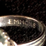 1974 Emmons Crystal Lights Ring - Retro Kandy Vintage
