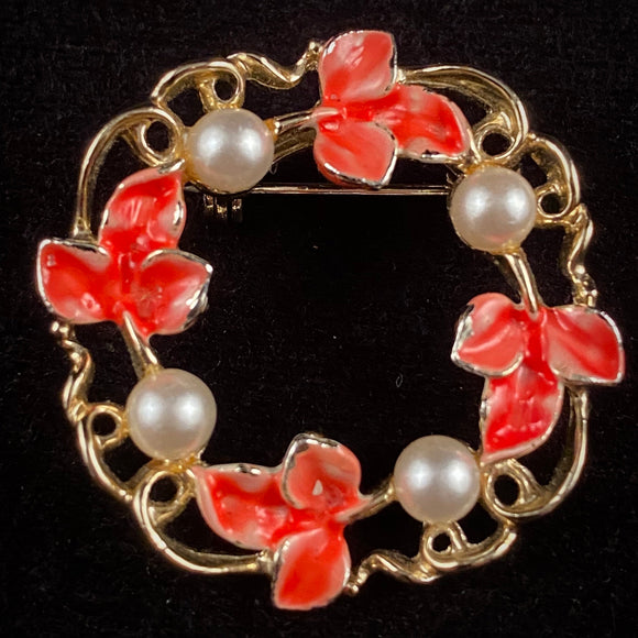 Late 50s/ Early 60s Gerry's Circle Brooch