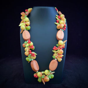 1950s West Germany Fruit Salad Necklace
