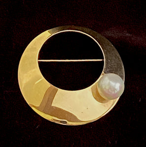 1970 Sarah Coventry Space Age Brooch