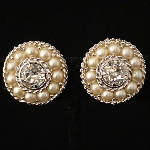 1960 Sarah Coventry First Lady Earrings