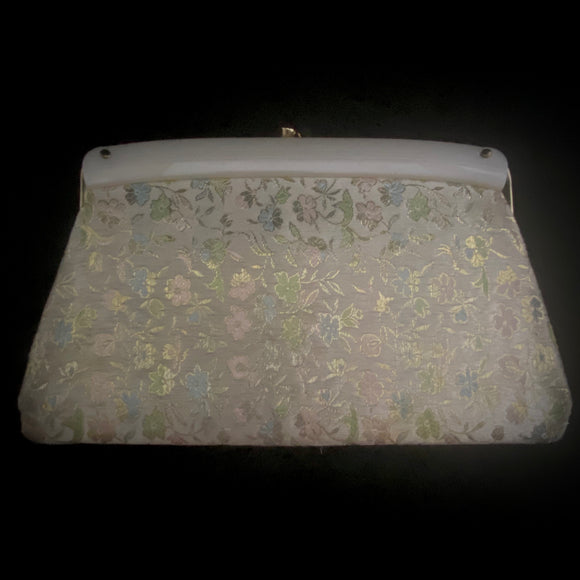 1960s Fabric Clutch - Retro Kandy Vintage