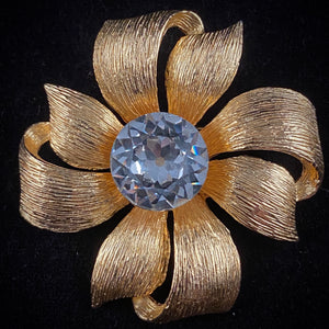 Late 50s/ Early 60s Dodds Rhinestone Brooch - Retro Kandy Vintage