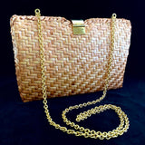 Late 70s/ Early 80s Walborg Rattan Purse
