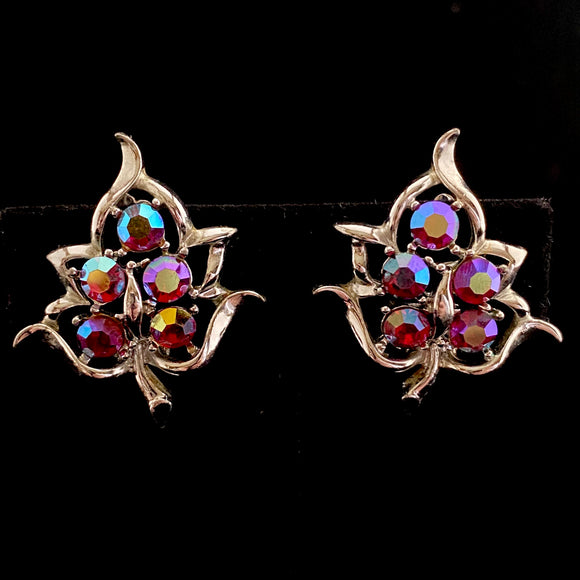 1960 Sarah Coventry Dazzling Aurora Earrings
