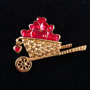 1994 Avon Garden of Love Brooch - Retro Kandy Vintage