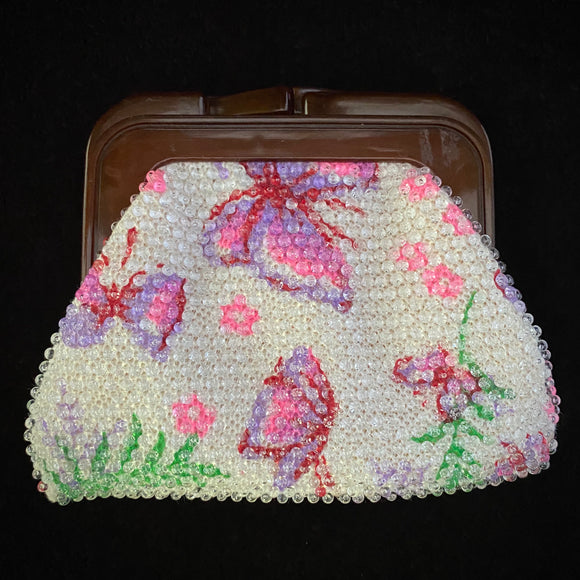 1960s Beaded Change Purse - Retro Kandy Vintage