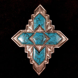 1974 Sarah Coventry Inca Brooch - Retro Kandy Vintage