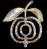 1972 Sarah Coventry Saucy Brooch (Silver)