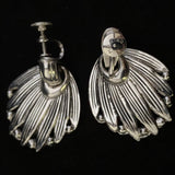 1950s Marino Silver Earrings - Retro Kandy Vintage