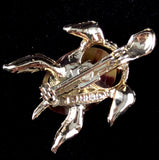 Late 60s/ Early 70s Gerry's Stone Turtle Pin - Retro Kandy Vintage