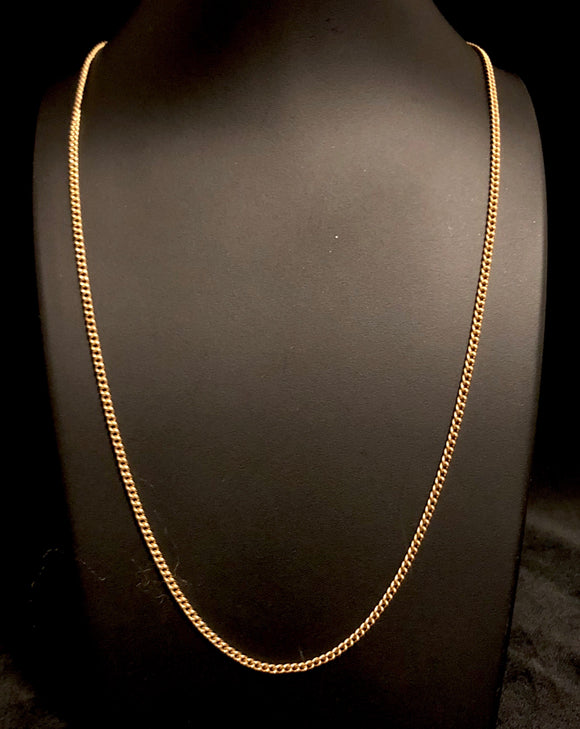 Late 60's/ Early 70's Gold Chain