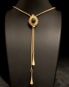 1979 Sarah Coventry Lariat Necklace