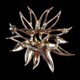 1969 Sarah Coventry Demi-Flower Brooch