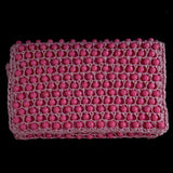 1960s Pink Beaded Clutch - Retro Kandy Vintage