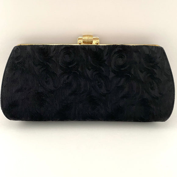 1960s So Unmistakably Johansen Fabric Clutch