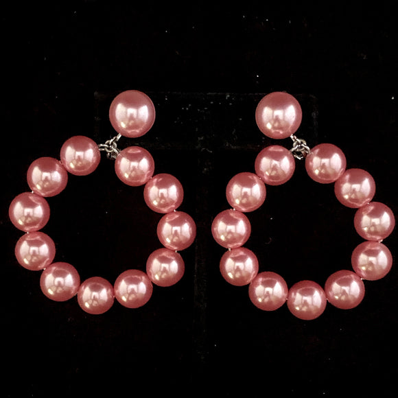 1993 Avon Bold Pearlesque Earrings - Retro Kandy Vintage