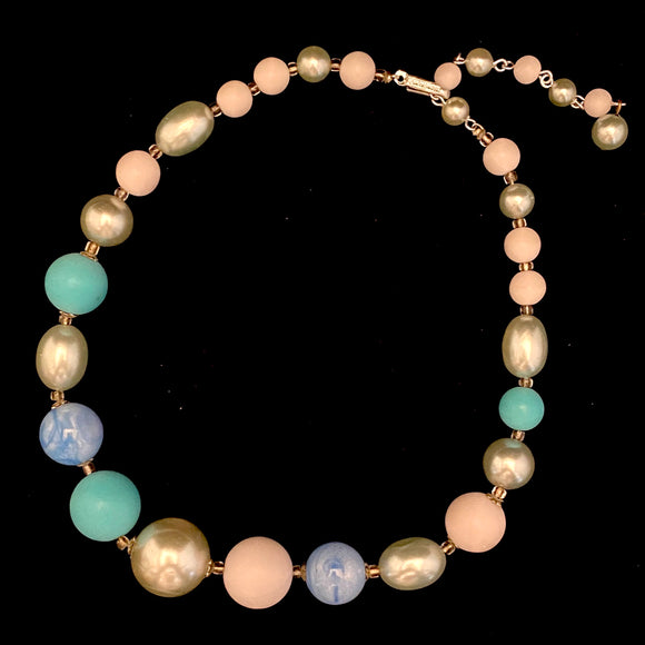 1960s Hong Kong Bead Necklace