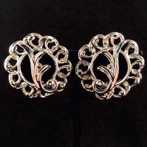 Late 50's/ Early 60's Sarah Coventry Fancy Free Earrings - Retro Kandy Vintage