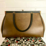 1960s Large Doctor Handbag