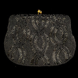 Late 40s/ Early 50s Walborg Beaded Clutch - Retro Kandy Vintage