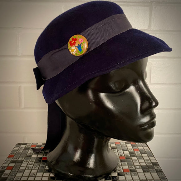 1960s Mr. John Juniorette Bowl Hat