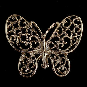 1970s Gerry's Butterfly Brooch