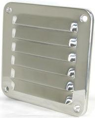Louvre Vent - Stainless Steel-Cassell Marine