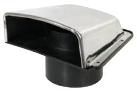 Cowl Vent - Stainless Steel-Cassell Marine