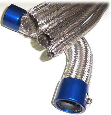 Speedflow 111 Series Stainless Steel Braided Hose Cover-Cassell Marine
