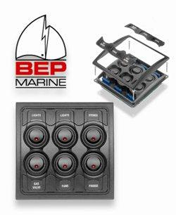 BEP Contour 6 Switch Panel-Cassell Marine