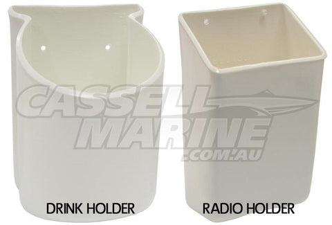Soft Mate Holders - Drink & Radio-Cassell Marine