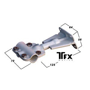 Clamp Blocks - Transom Steering Mount-Cassell Marine