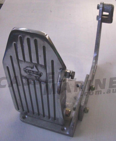 Foot Throttle Accelerator Pedal - Push or Pull-Cassell Marine