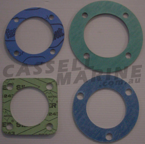 Exhaust Manifold Flange Gasket - suit Tawco Rolco M.C.E-Cassell Marine
