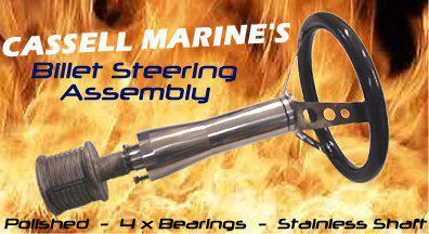 Cassell Billet Steering Column Assembly-Cassell Marine