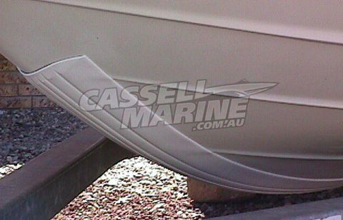 Black 6 foot Gator Keel Shield - Keel Guard Proctector