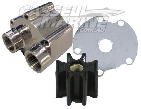 Stainless Steel Mercruiser Bravo Water Pump Overhaul Kit-Cassell Marine