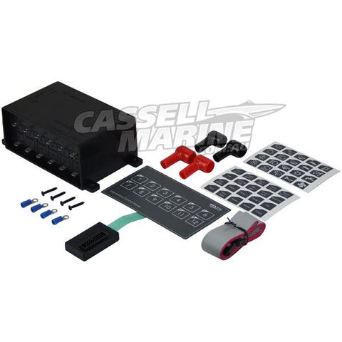12 Switch Touch Control Panel - Deluxe Membrane-Cassell Marine