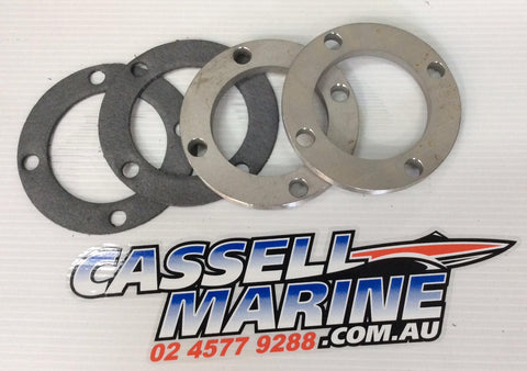 Exhaust Manifold Flange & Gasket Kit MCE-Cassell Marine