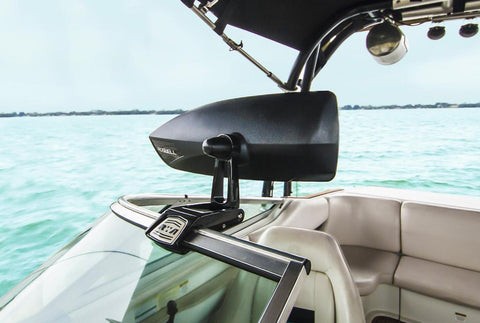 Roswell Windscreen Mirror Mount-Cassell Marine